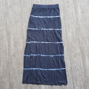 AEO maxi skirt with side slit S